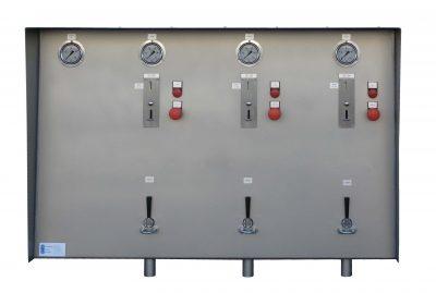 Muntautomaat met 3 muntproevers
