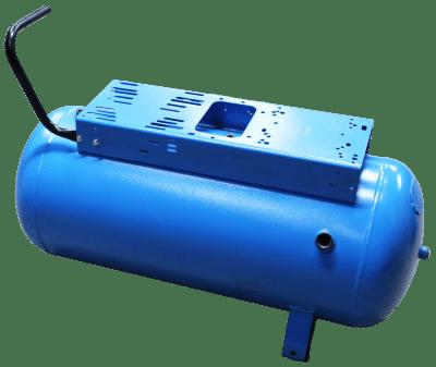 Ketel 90 liter blauw