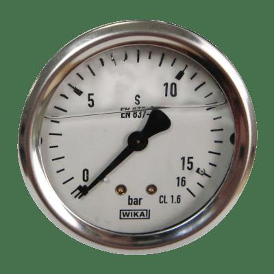 Manometer achteraansl. 16 Bar