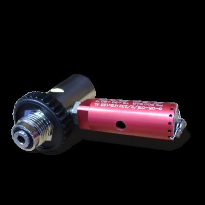 Overvuladapter met veiligheidsventiel 200/300 Bar