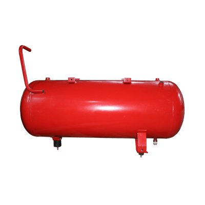 Compressed air tank 100 liter red