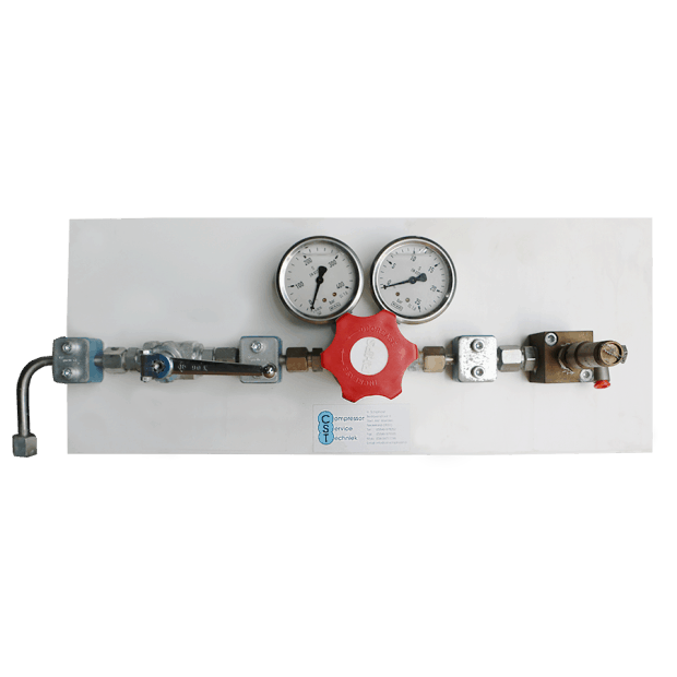 Reduceerpaneel 400-0 Bar