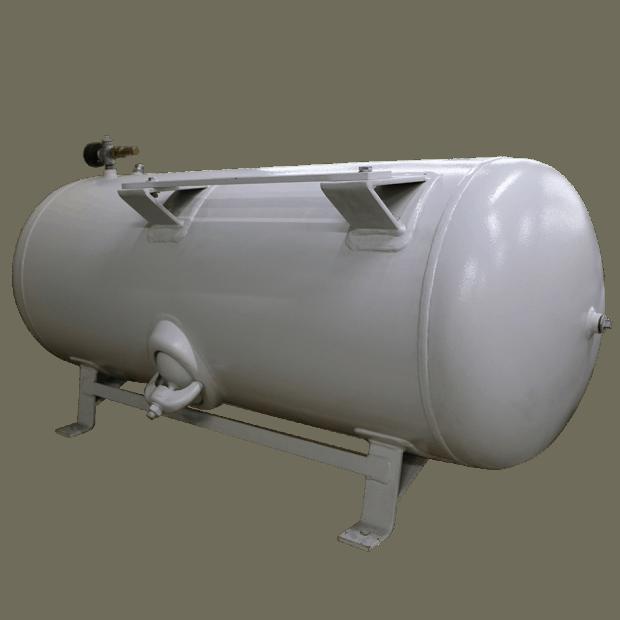 Ketel horizontaal 250 liter wit