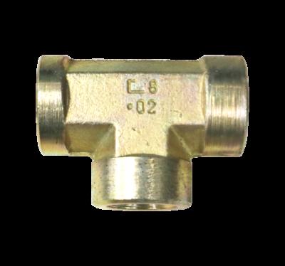T-piece coupling 1/2 BI-S