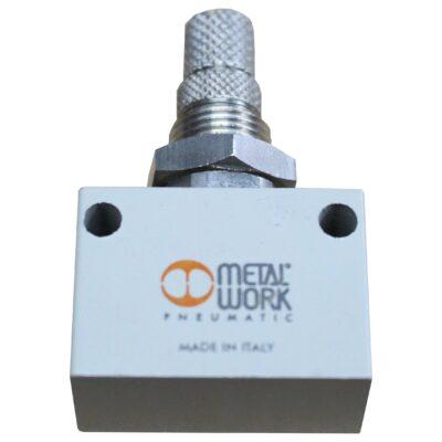 Control valve incl. non-return valve